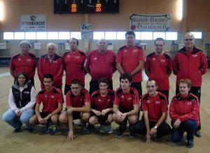 L'équipe d'Annonay qui a gagné à Tournon