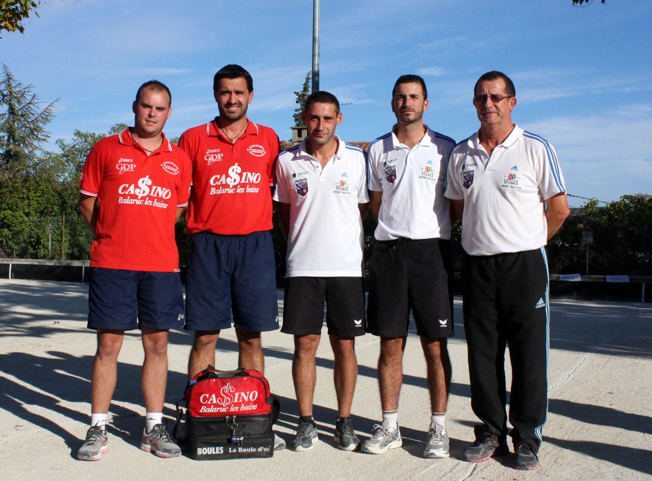 Concours national de 192 doubles de Villeneuve de Berg