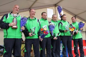 L'équipe Verne d'Aix les Bains avec ses deux Ardéchois, Yvan et Christophe Reyne