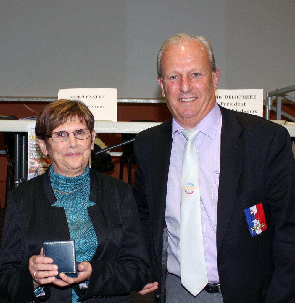 Deux médailles de bronze de la FFSB