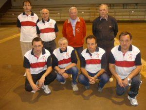 L'équipe de Vals les Bains, championne du secteur l'an dernier