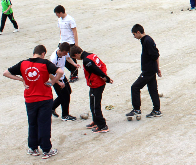 Lamastre, 33ème tournoi pascal des jeunes boulistes