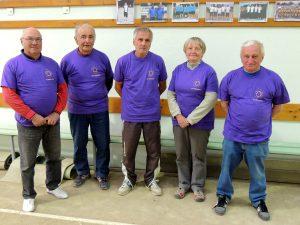 Equipe Bellevègue de Serrières Sablon