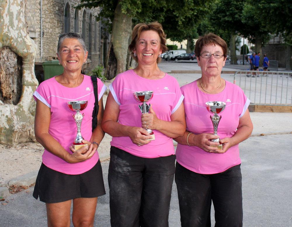 Résultats du secteur d'Annonay aux fédéraux triples féminins