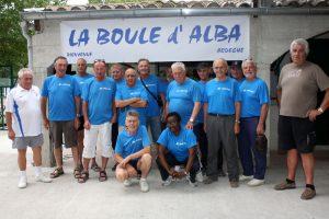 L'équipe des bénévoles d'Alba la Romaine