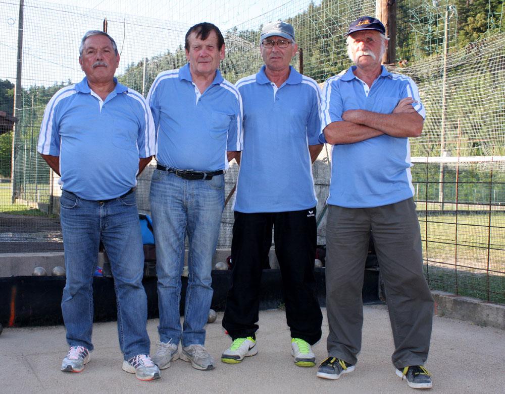 L'équipe Faure championne de l'Ardèche