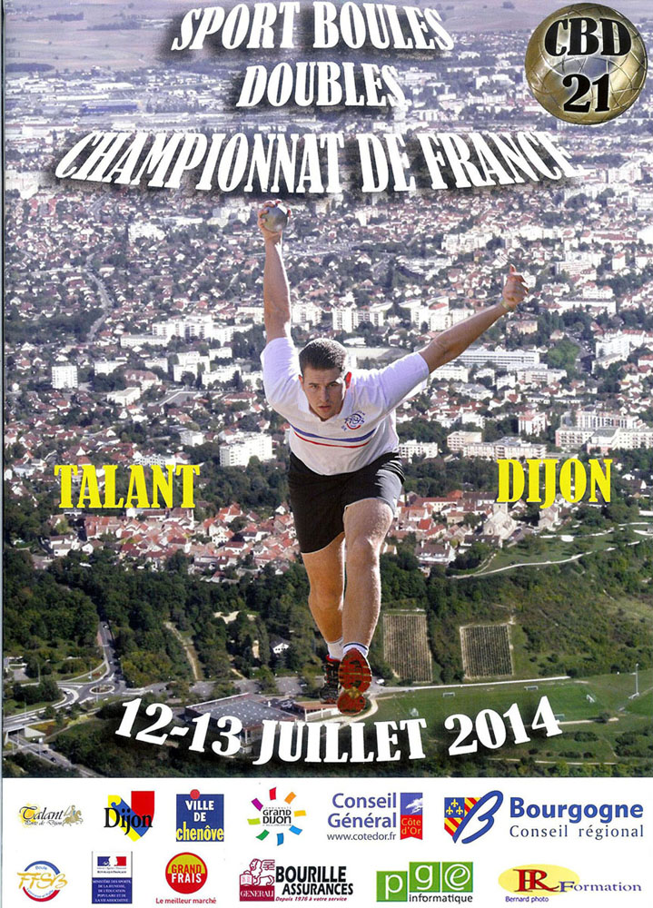 Tirage des championnats de France doubles