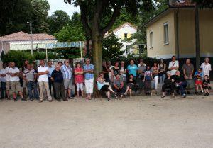 Réception au boulodrome d'Aubenas