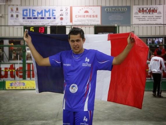 Brice Alves Perreira, Champion du Monde