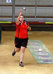 Elodie Bay victorieuse en relais et en triple