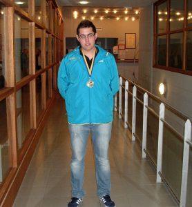 Brice Alves-Perreira, Champion du Monde en simple - de 18