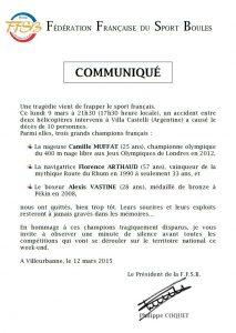 Communiqué Coquet