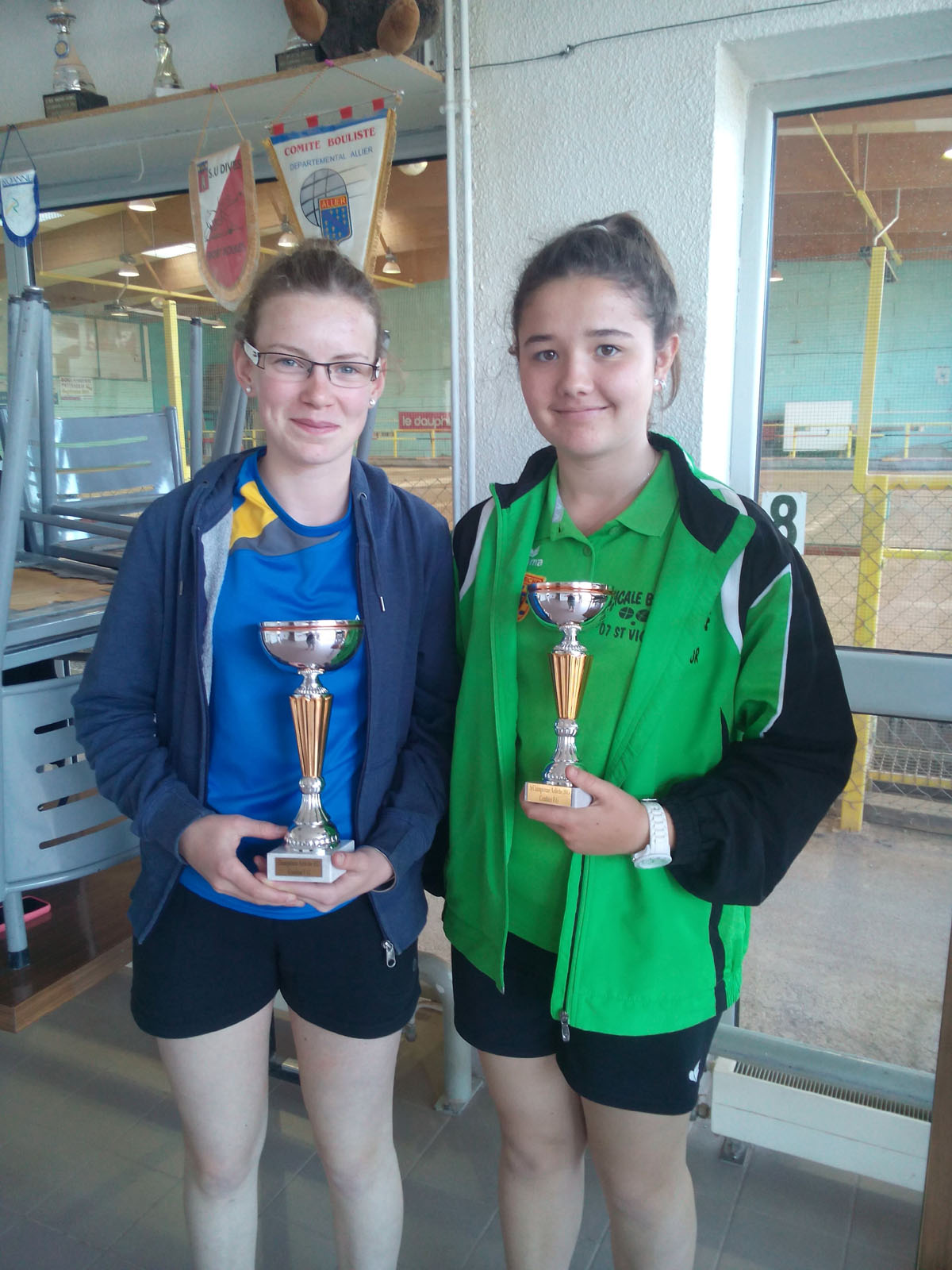 Les champions de l'Ardèche 2015 en combiné