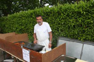 Jean-Paul officiait à la cuisson