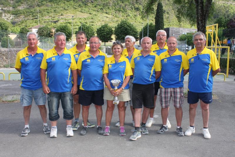Ruoms, champion de l'Ardèche