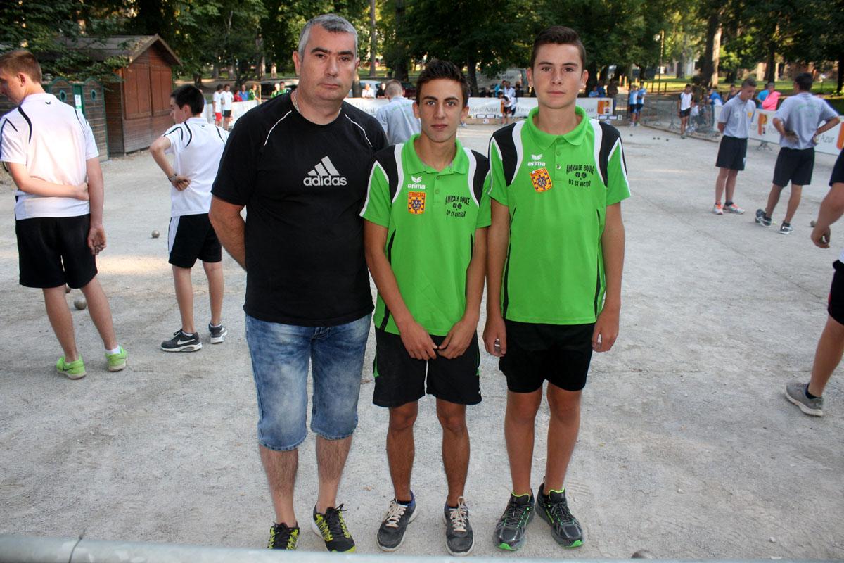 Moins de 15 ans, Saint Victor finaliste de la Coupe de France