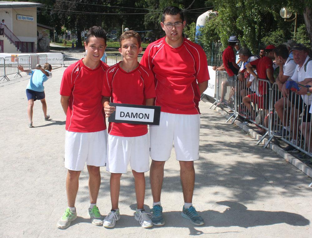 Moins de 18 ans, Annonay en demi-finales