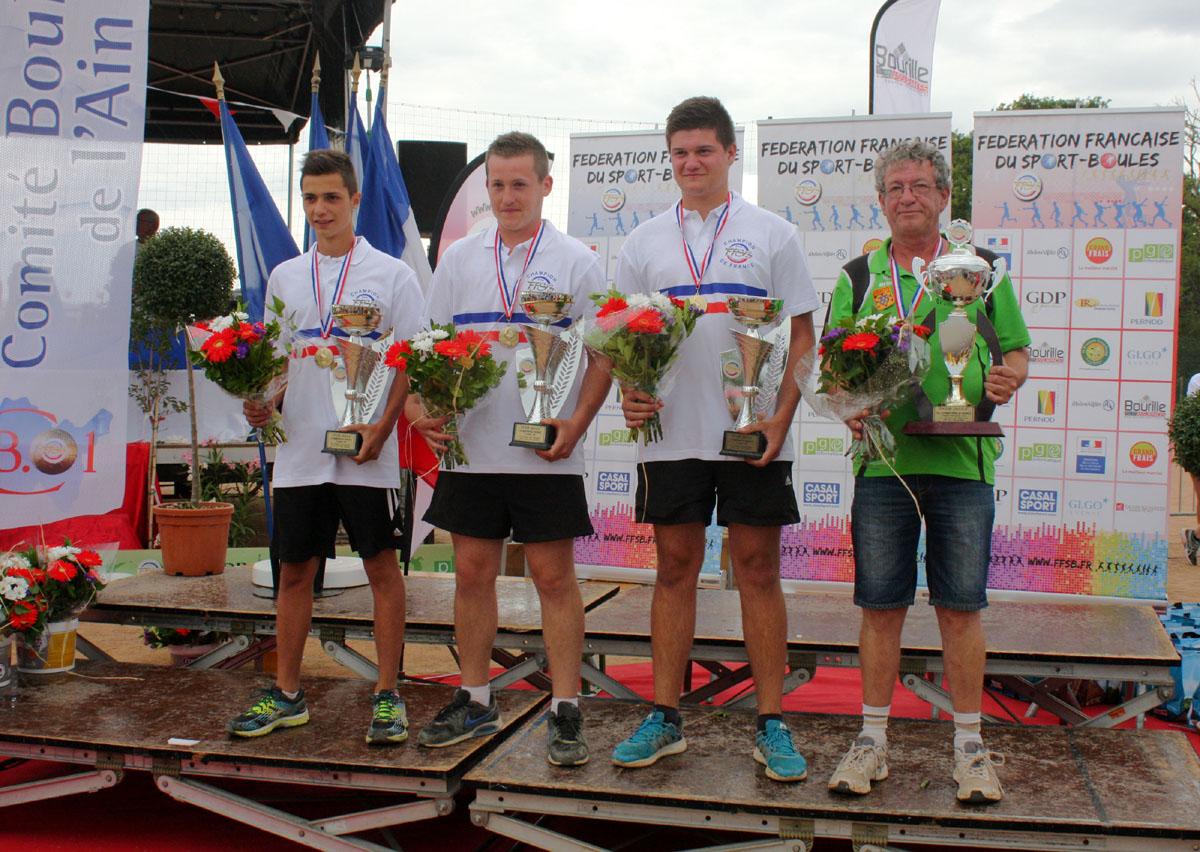 Saint Victor champions de France chez les moins de 18 ans