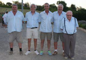 L'équipe Gineste du secteur d'Aubenas