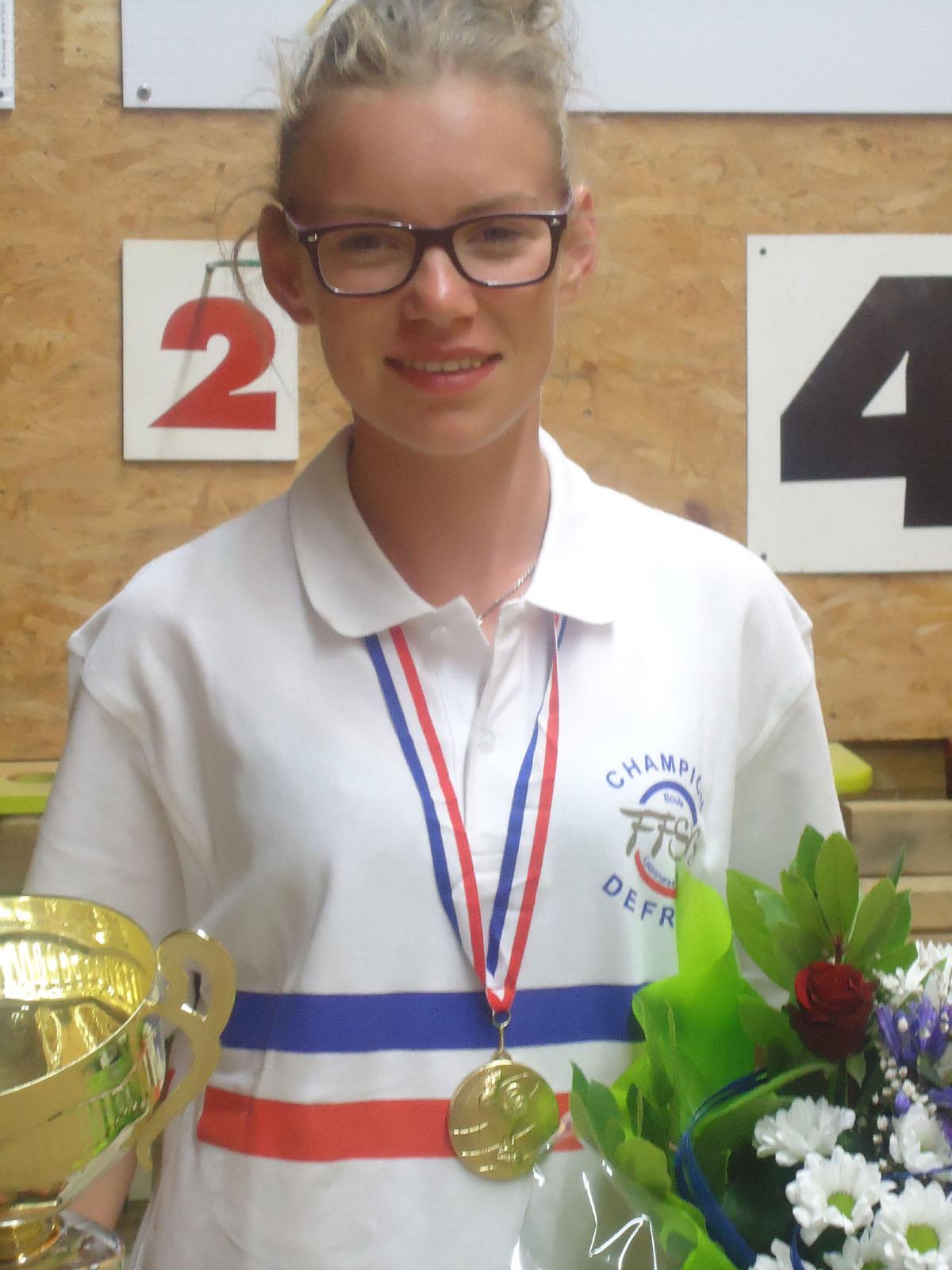 Alicia Sapet championne de France
