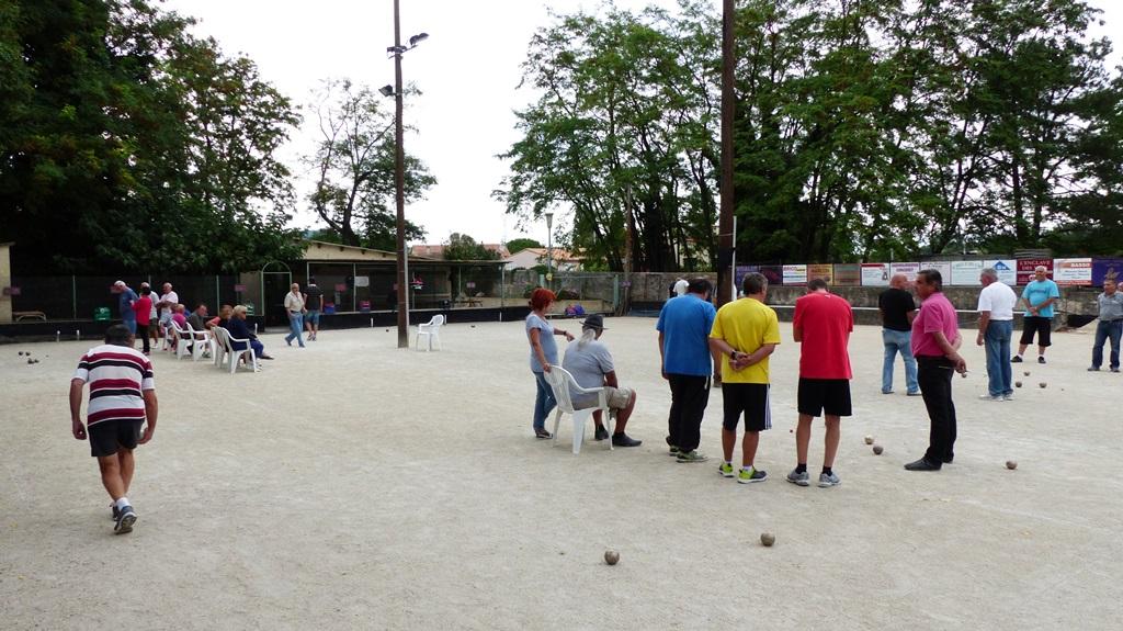 Promotion du sport boules au Teil