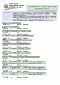 Inscriptions pour Bellecour 2016