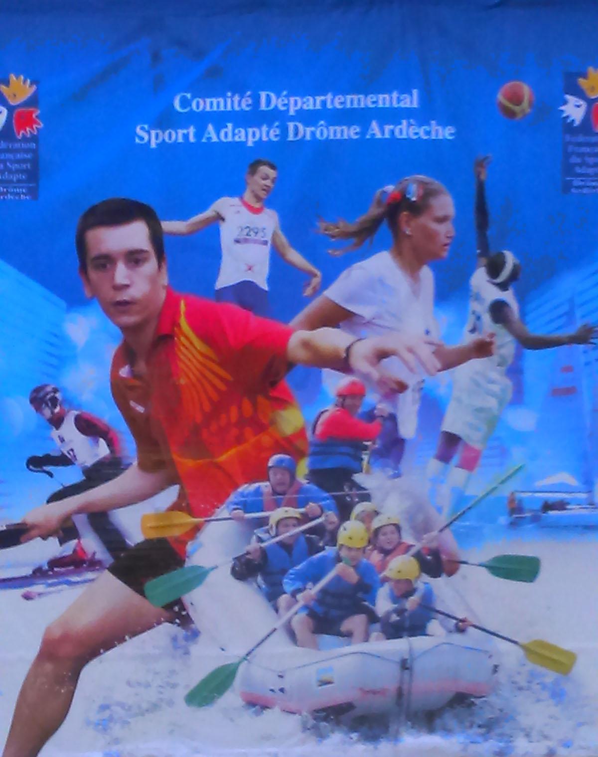 Championnat 26/07 de Sport adapté à Annonay