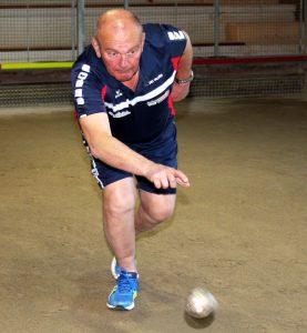 Par l'excellence de son point sur sa dernière boule, Christian Marres a évité une défaite imméritée