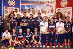 Le Club des Vallées avec les champions de France de Montpellier