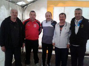 Les cinq joueurs qualifiés en 3ème division