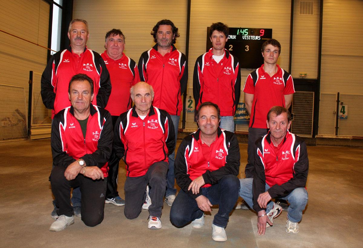 L'AS de Vals les Bains championne 2016 du secteur d'Aubenas