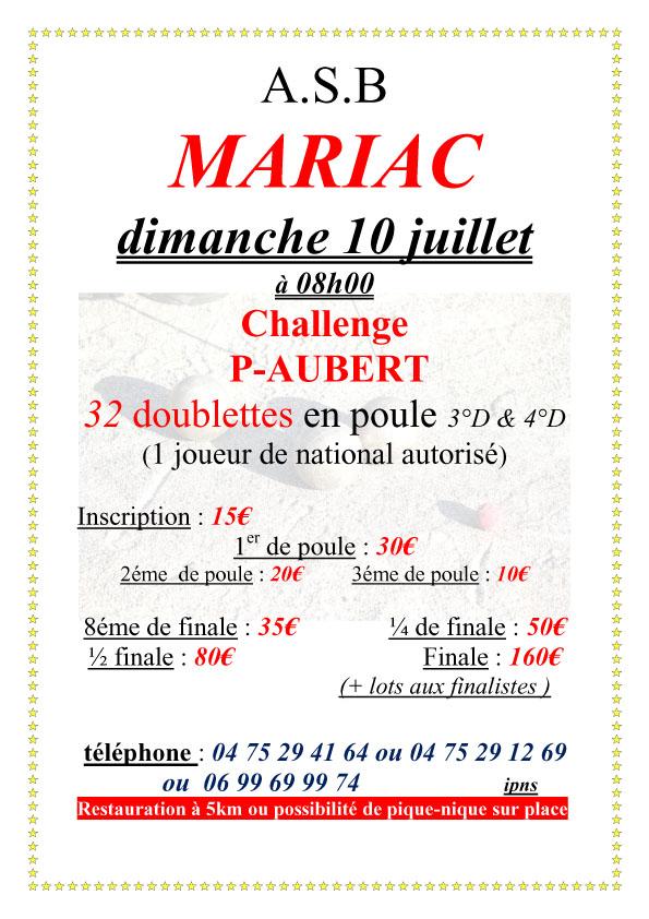 Inscrivez-vous à Mariac