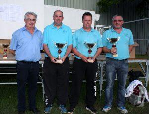 Luc Champ, Yohann Chapus et Lionel Teyssier sont champions de l'Ardèche
