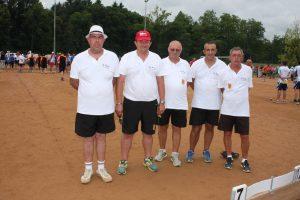 Henri Guillaud, Raymond Vivier, Bruno Serpolier, Gilles Sarrazin et David Dumond