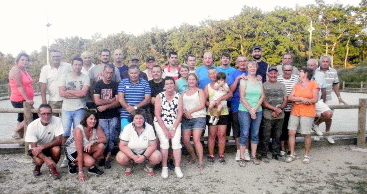 Challenge du village pour l'Amicale boules Saint-Cyr