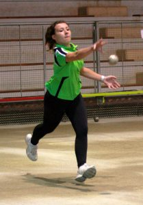 Associée à Juliette Ponsonnet, Laurie Monneron a remporté le relais 25 à 19