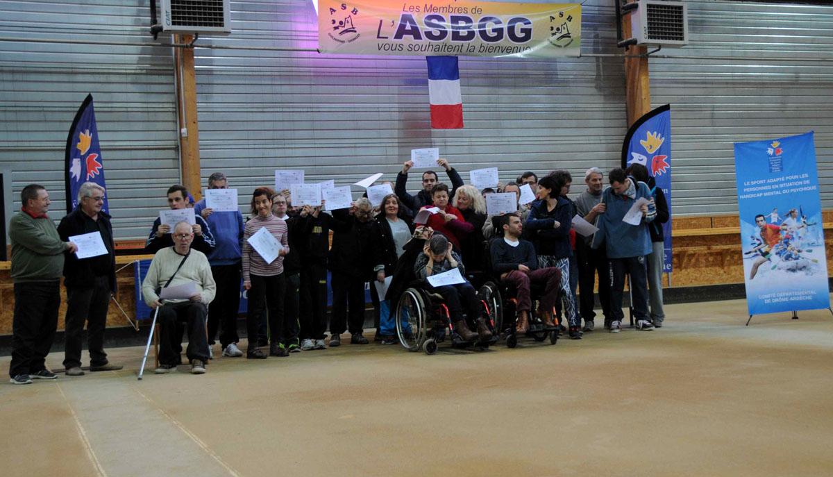 Journée sport adapté à Guilherand-Granges