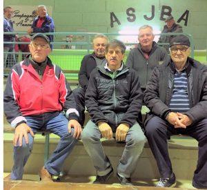 Philippe Chenevier, Philippe Escoffier et Daniel Marsens sont absents sur la photo