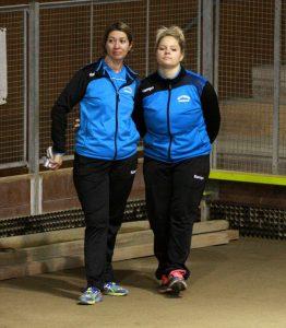 Karine Faure et Célia Joud, un double pas facile à battre