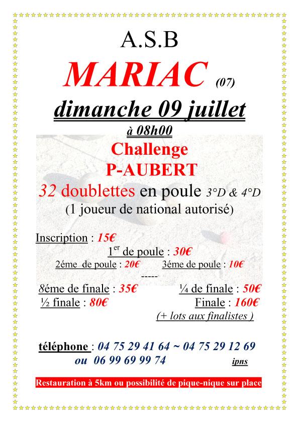 Inscrivez-vous à Mariac en M3-M4 et en F3-F4