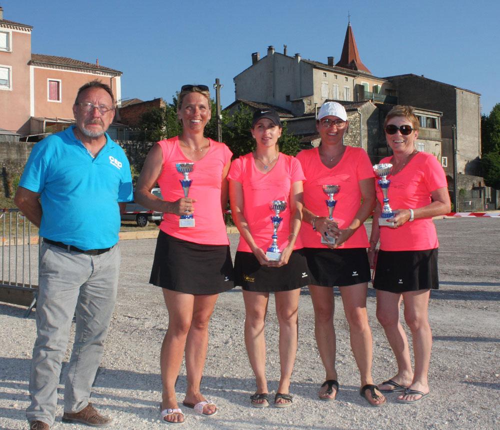 En F1-F2, les Drômoises sont championnes de l'Ardèche