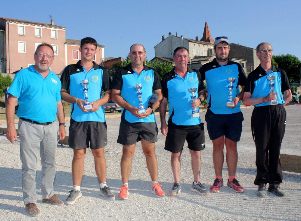 Mollier champion de l'Ardèche en M2