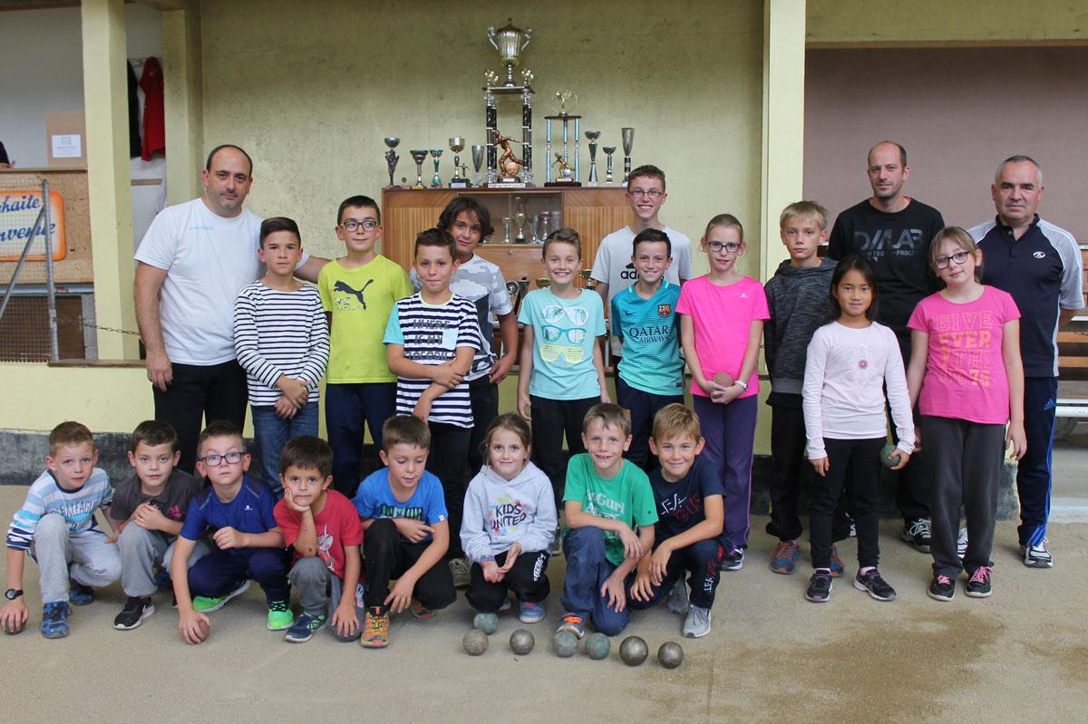 Création d'une école de boules à l'ASB du Cheylard