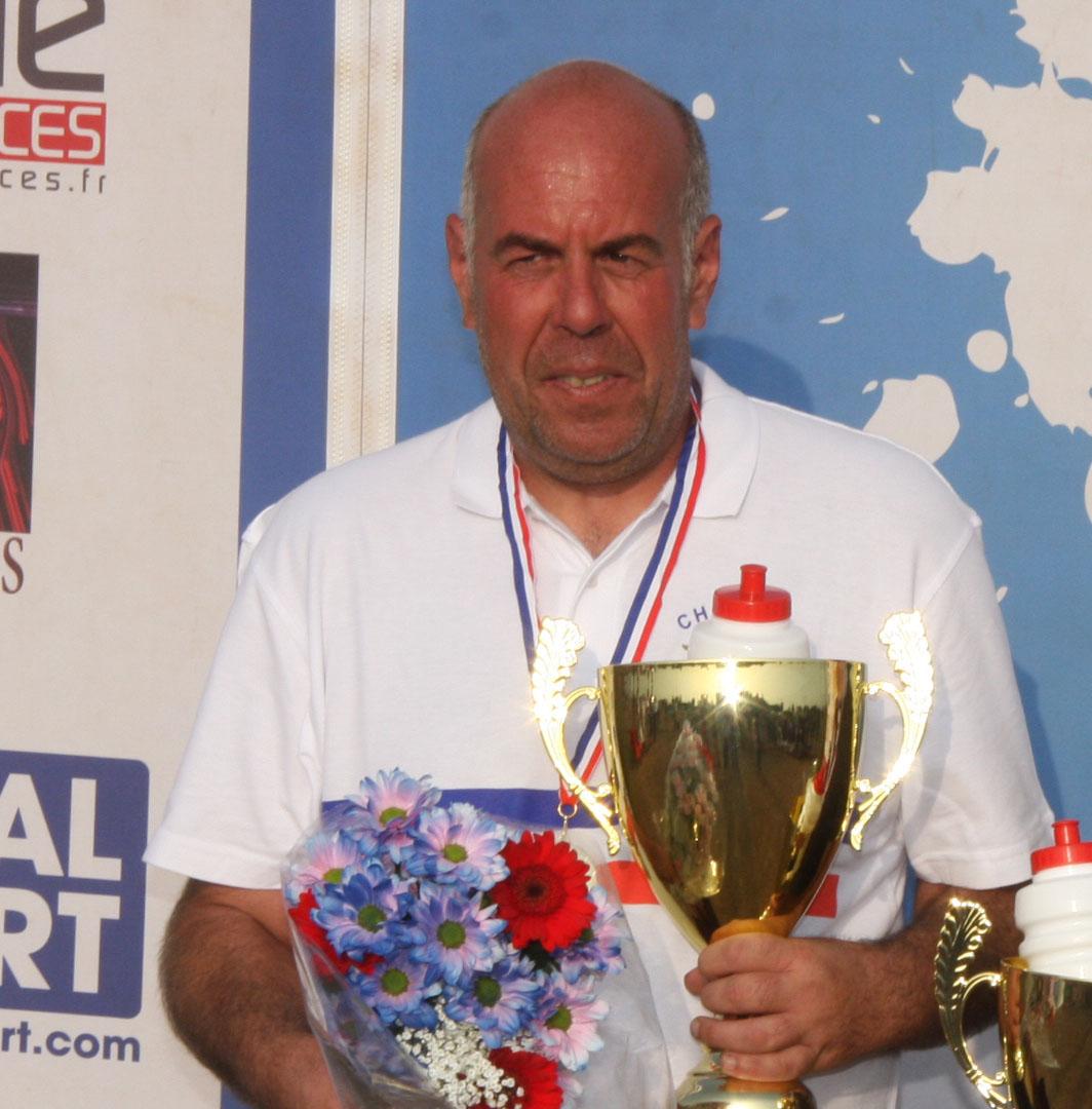 Bruno Serpollier est Champion de France en M2