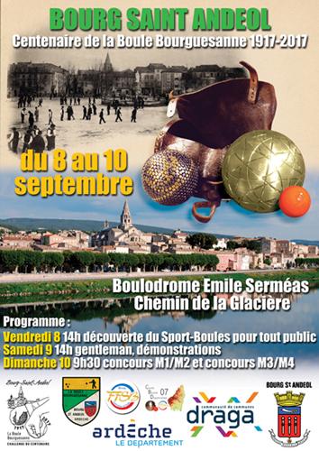 La Boule Bourguésanne fête ses 100 ans