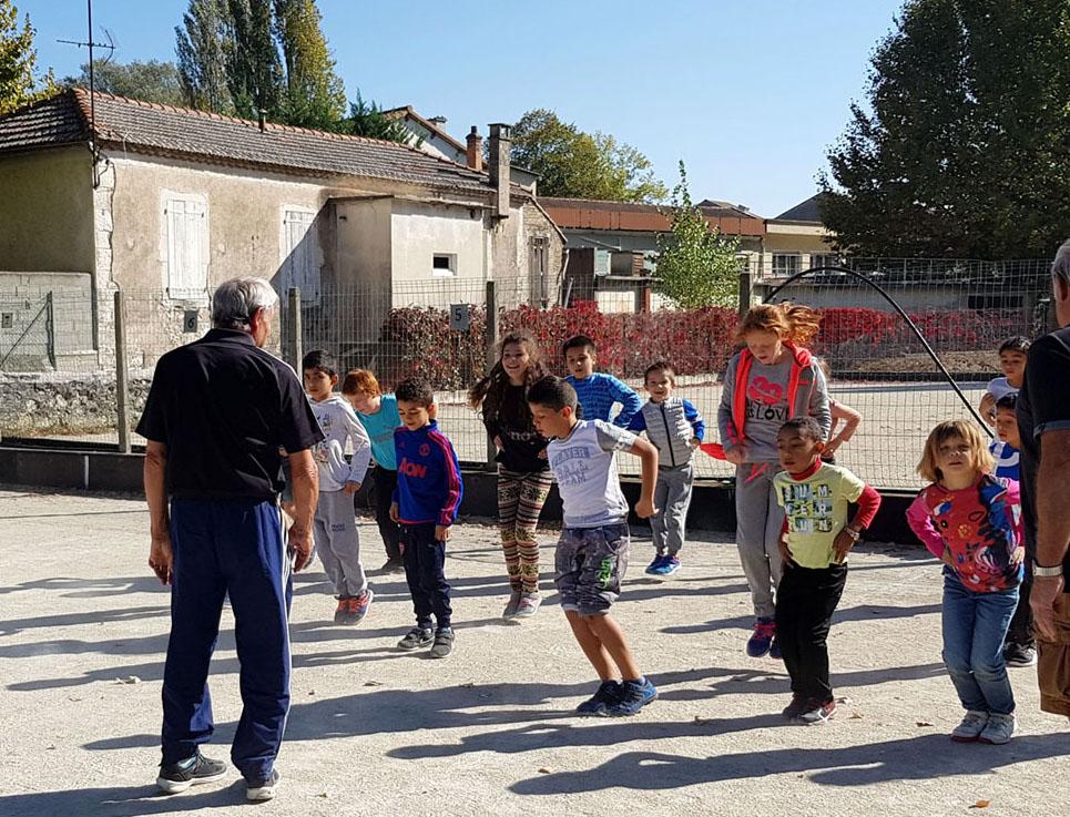 Initiation pour l'école primaire de La Violette