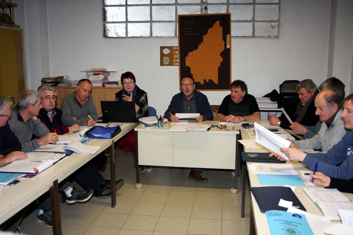 Réunion du Comité directeur