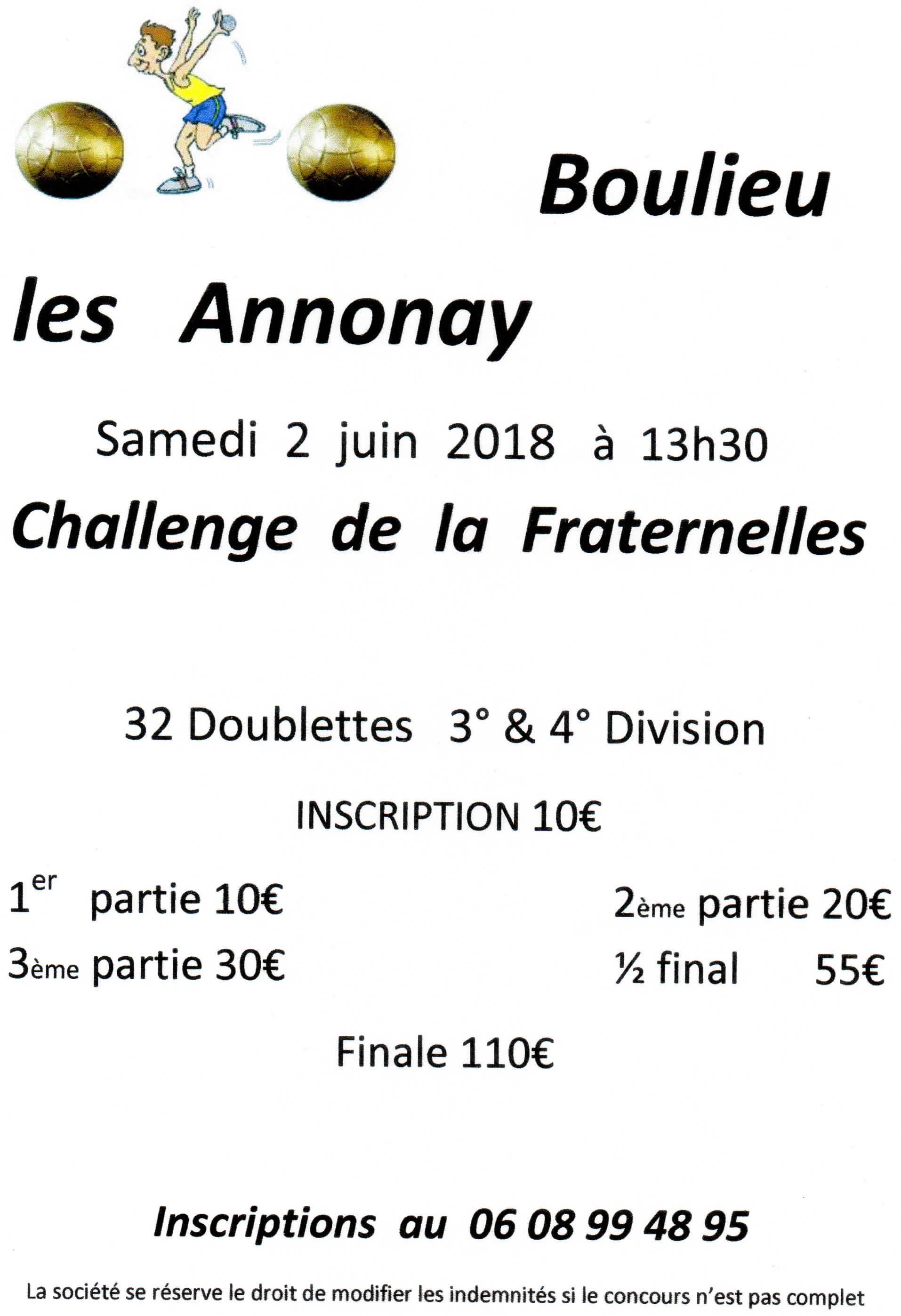Inscrivez-vous à Boulieu les Annonay