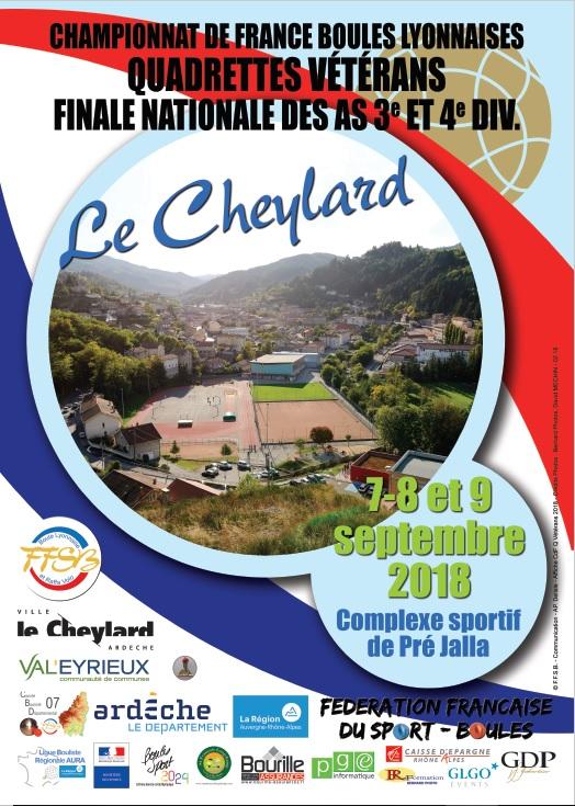 Tout savoir sur le Championnat de France vétérans au Cheylard