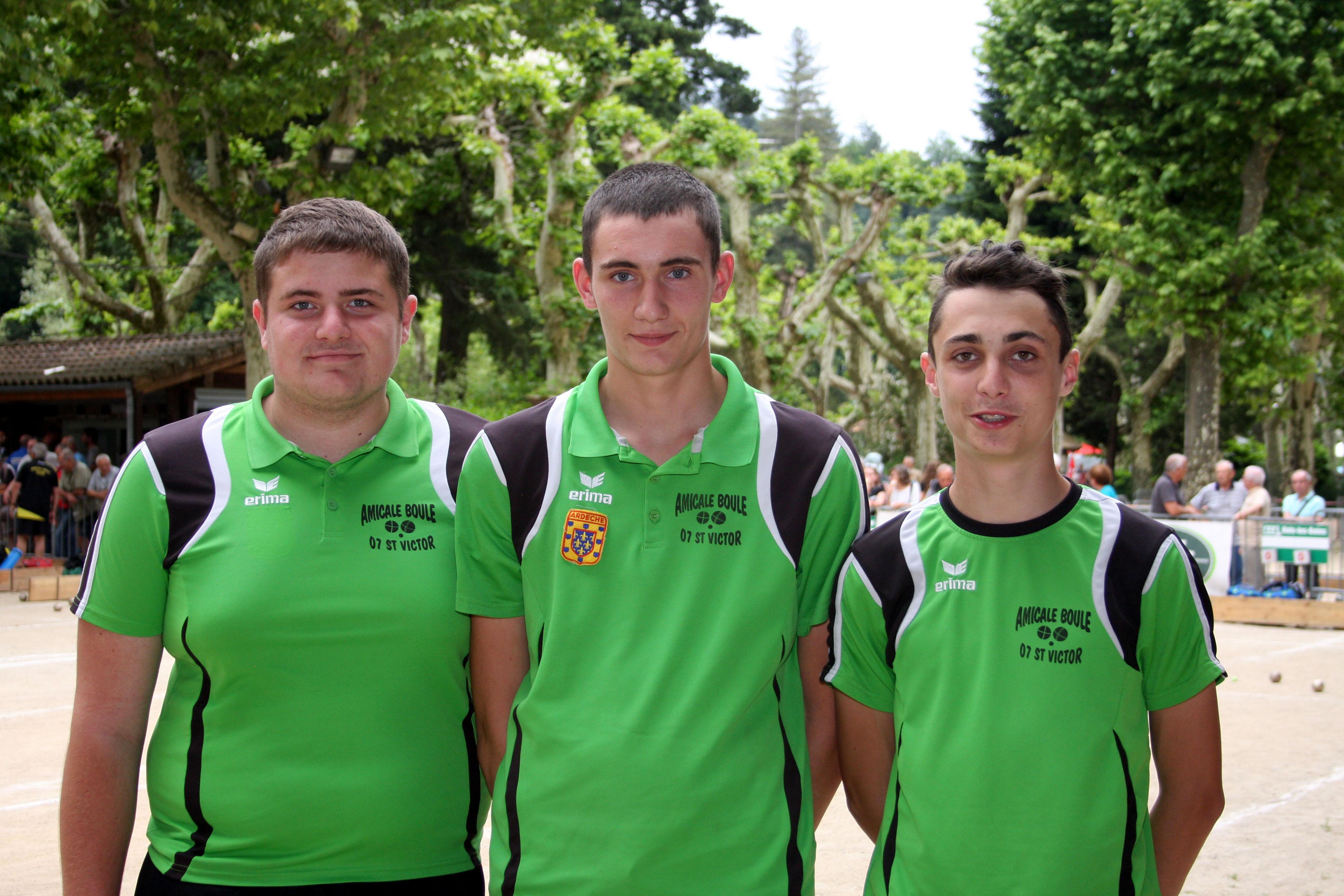 Deux équipes expérimentées représenteront l'Ardèche en U18